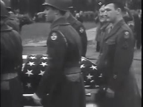 General George Patton Funeral Procession Clip W Musical