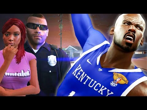 The NBA 2k16 Horsley My Career Story Ep. 3 of 10 - Selling Drugs Before NCAA National Championship