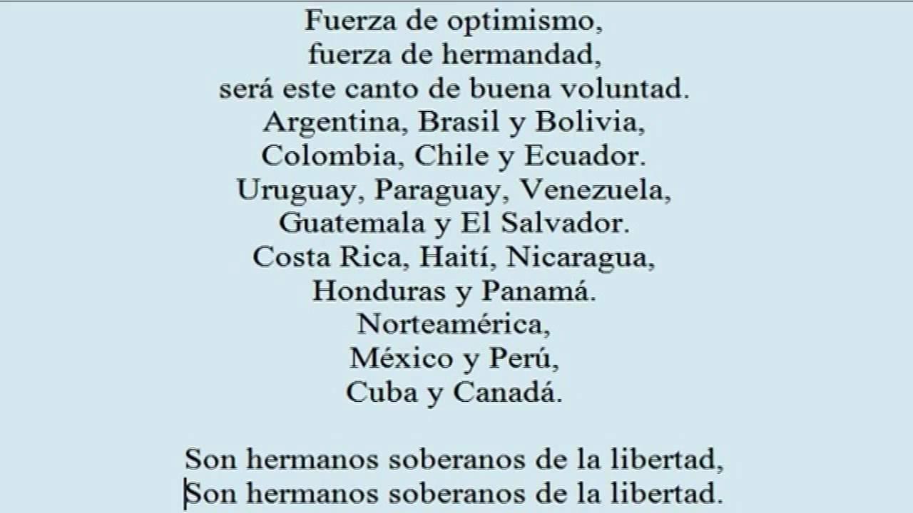 letra himno brasil: