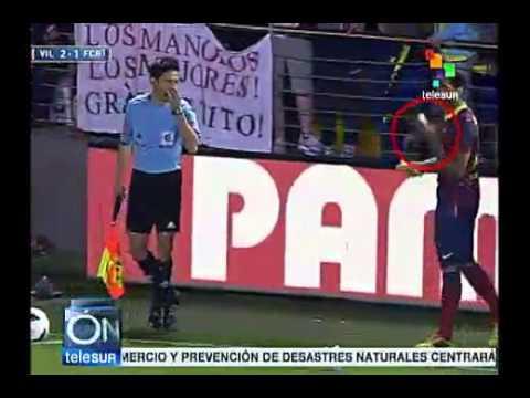 Ação anti-racista de Dani Alves gira o mundo