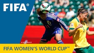HIGHLIGHTS: Australia v. Japan - FIFA Women's World Cup 2015 - Duration: 2:22.