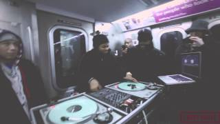 Jam Master Jay's Son TJ Mizell DJ's On NYC Subway, Does Jay Z Set