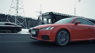 Audi TT тест-драйв. Антон Воротников.