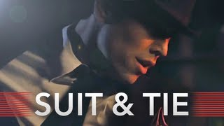 """Suit & Tie"" Justin Timberlake Ft. Jay-Z (Max Schneider"