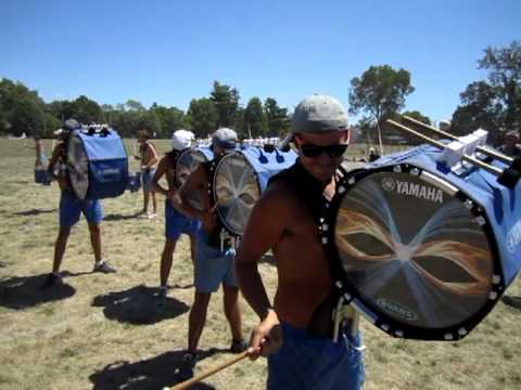 Bluecoats 2012 ON FIELD BATTERY CAM- Finals Day