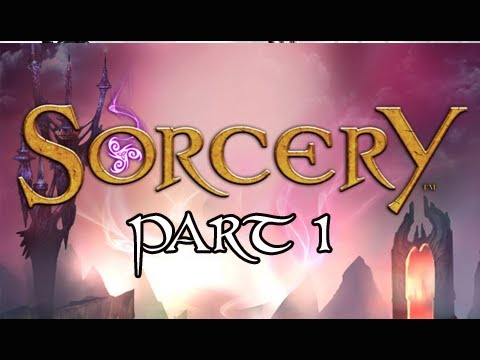 Sorcery Walkthrough - Part 1 The Tower Let's Play PS3 Move ( Gameplay / Commentary)