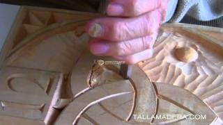 Curso de talla en madera. Parte 7