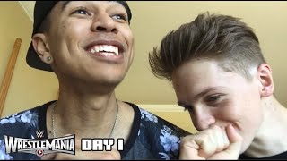 WRESTLEMANIA 31 BEGINS! - DAY 1 ft. Joe Weller