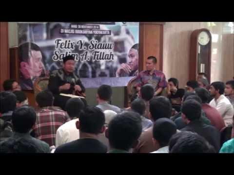 Tabligh Akbar Duet Ukhuwah Ust Felix Siauw dan Ust Salim A Fillah - Menemukan Islam, Menebar Kebenaran