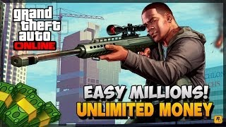 "GTA 5 Online How To Make Money Fast Online ""Best Money"