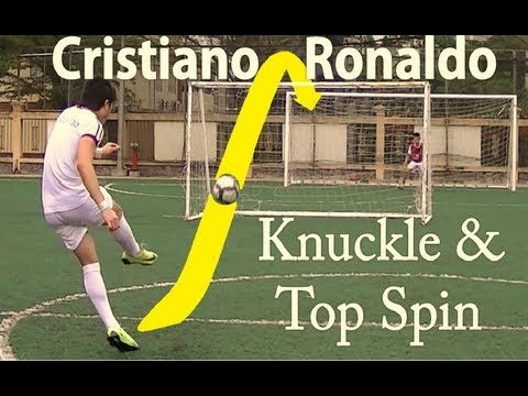 How to Shoot like Cristiano Ronaldo -KvkWRYJlVhw
