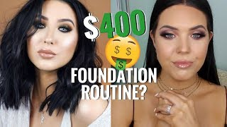 I TESTED JACLYN HILL'S $400 RADIANT GLOW FOUNDATION ROUTINE! Is it Worth the Money!? | Faith Drew