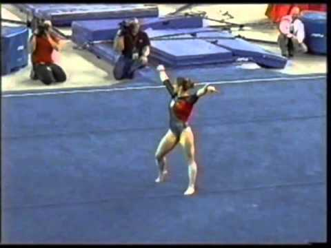 Katie Heenan - 2008 UGA vs UCLA - Floor Exercise