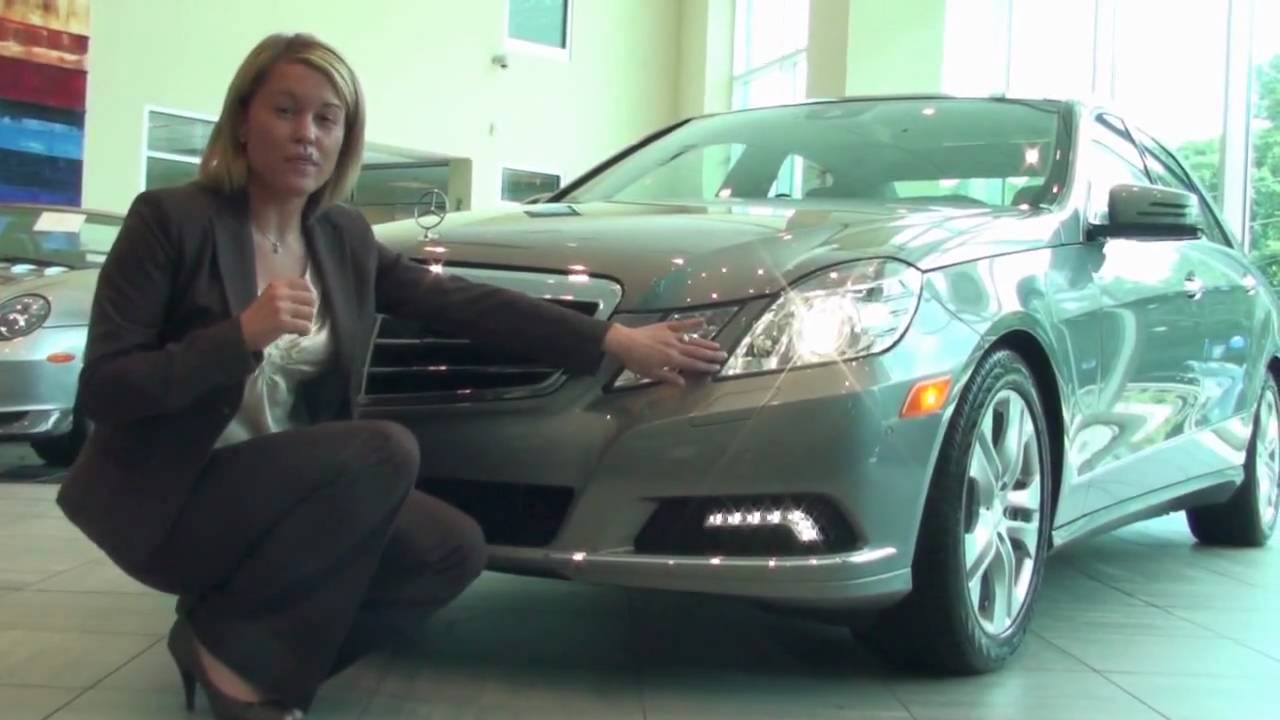 Emily with mercedes benz of buckhead shows us the new 2010 for Mercedes benz of buckhead