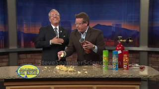 Exploding Pringles Can Cool Science Demonstration