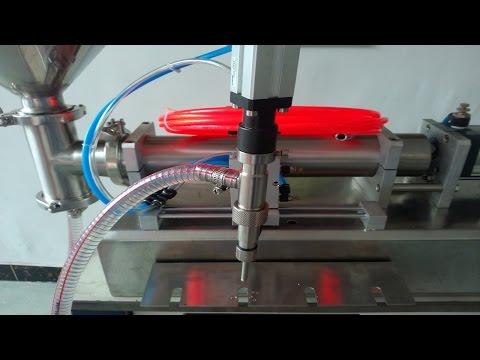 Single head spout bags filling machine pneumatic liquid filler bolsas Boquilla máquina de llenado