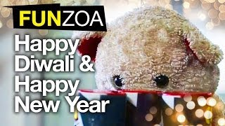 Teddy Wishes Happy Diwali & Happy New Year-Funny Video For