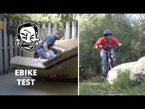 Epic E-Bike Unboxing & Test