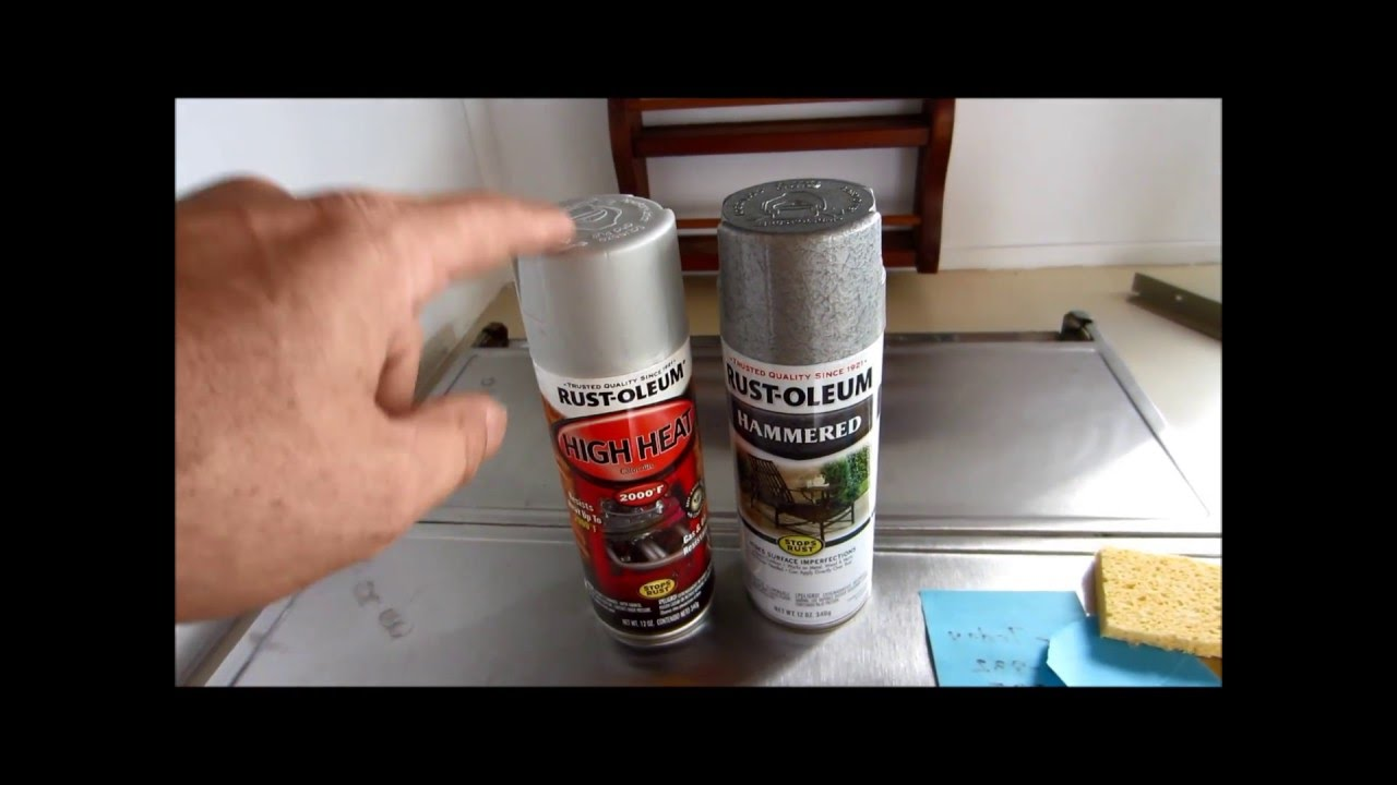 how to paint your motor home stove range or vent hood youtube. Black Bedroom Furniture Sets. Home Design Ideas