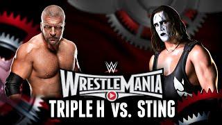 WWE 2K15 - Wrestlemania 31: Triple H vs. Sting (WWE 2K15 Match Simulation)