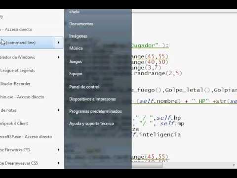 Programacion Python 35 : Juego Objetos Parte 4 (asignacion de stats utilizando random)