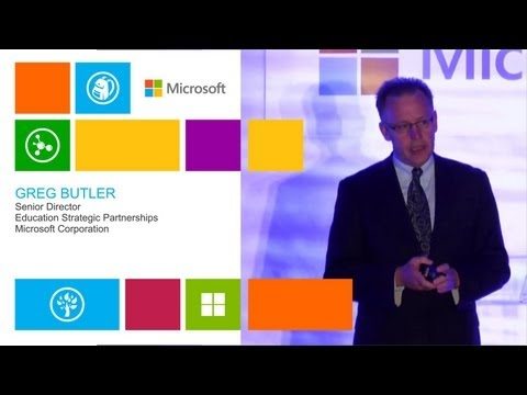 Greg Butler - Senior Director - Education Strategic Partnerships - Microsoft Corporation