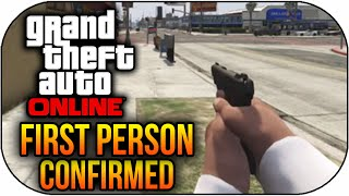 GTA 5 Online Leaked First Person Mode,Animals Online,New