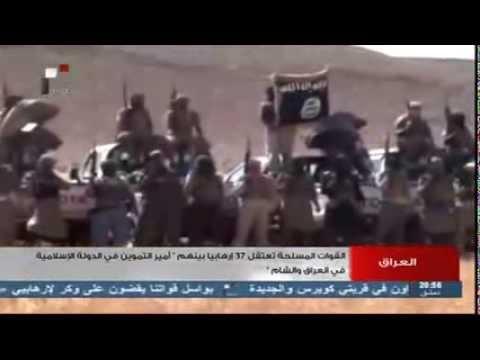 العراق - القوات المسلحة تشن هجمات ضد التنظيمات الإرهابية في وادي حوران والقائم والرطبة
