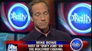 Mike Rowe On The O'Reilly Factor