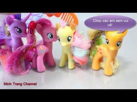 Đồ chơi cho bé - thú nhồi bông hoàng tử Pony Princess rất đẹp