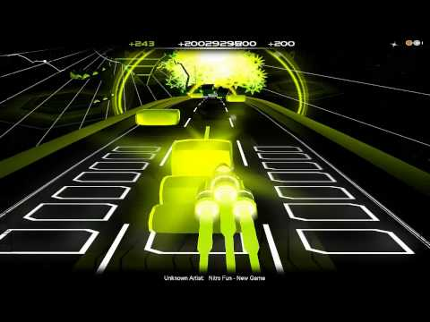 Audiosurf: Nitro Fun - New Game