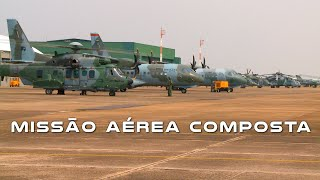 O Composite Air Operation (COMAO) envolveu as aeronaves A-1 e A-29 Super Tucano, para as missões de Ataque; H-36 Caracal, H-60L Black Hawk, AH-2 Sabre e SC-105 para as missões CSAR; C-105 Amazonas e C-95 Bandeirante nas missões de Assalto Aeroterrestre; e R-99 e E-99, que realizaram missões de Posto de Comunicação no Ar, para complementar o fluxo de comunicações do COMAO.
