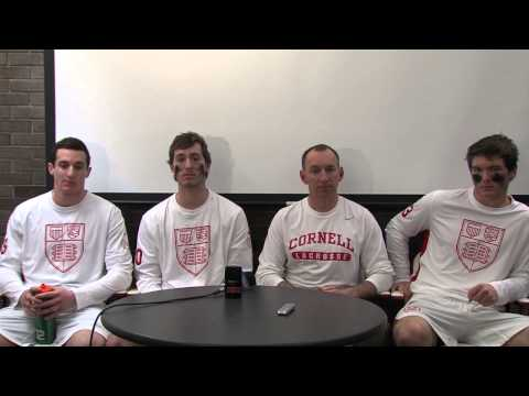 Postgame Interviews: Men's Lacrosse vs. Yale - 3/15/14