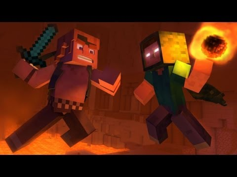 """Take Back the Night"" - A Minecraft Original Music Video, CaptainSparklez newest minecraft music video"