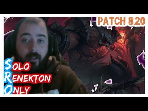 AATROX vs JAX | SoloRenektonOnly | AATROX Top | FULL GAME | Full Gameplay | LOL Patch 8.20