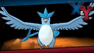 Pokémon X And Y Episode 64 Articuno (or Zapdos/Moltres)!