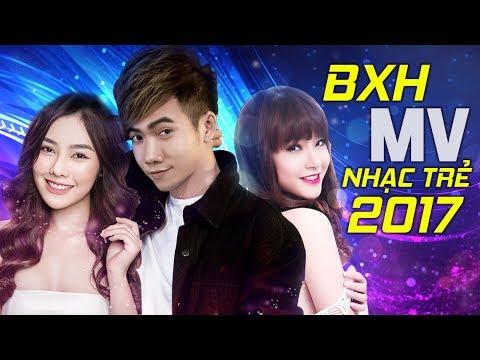 Bảng Xếp Hạng MV Nhạc Trẻ Hay Nhất 2017 – Liên Khúc Nhạc Trẻ Tuyển Chọn Hay Nhất Tháng 7 2017