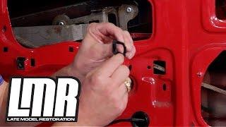 Fox Body Mustang Window Guide Bushings Install