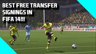 Fifa 14 Top Tips Best 2nd Season Free Transfer Signings