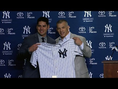 Jacoby Ellsbury introduced as a Yankee