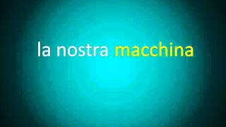 Curso de Italiano. Clase 21