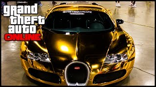 GTA 5 Online Brand NEW PURE GOLD Paint Job Added To GTA