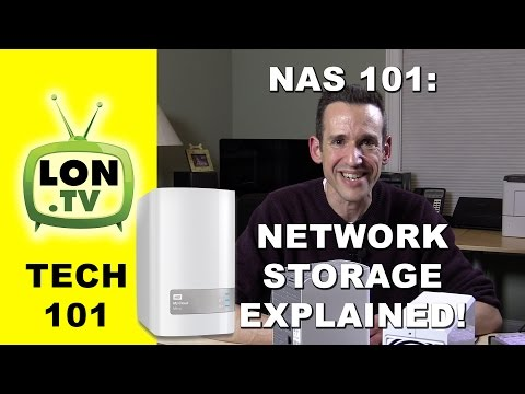 NAS 101: What is Network Attached Storage ? - WD My Cloud, Seagate Personal Cloud, Synology