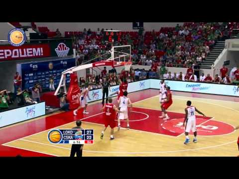 1/4 playoffs. Lokomotiv-Kuban - CSKA Game 4 Highlights