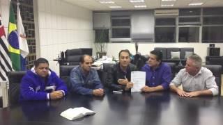David Martins entrega Emenda Parlamentar do deputado Paulinho da Força ao município de Mauá