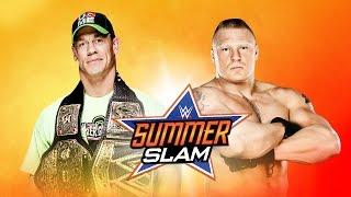 John Cena Vs. Brock Lesnar SummerSlam WWE 2K14
