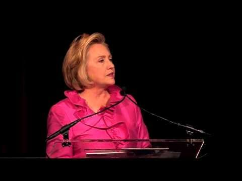 Hillary Rodham Clinton - Calvin Klein, Inc. presents Save the Children Benefit Gala