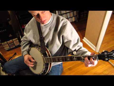 Rhythm Banjo Part 18 Explanation of chord changes in C.