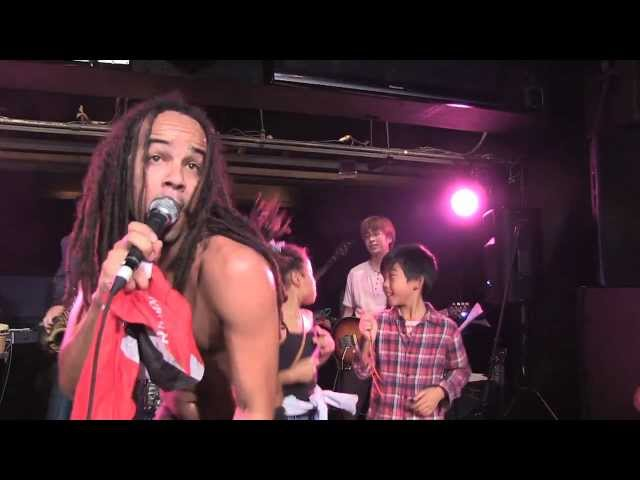 "KES live in Japan performing ""Where Yuh From"" - Trini Love For Japan 2011"