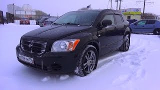 2007 Dodge Caliber. Start Up, Engine, and In Depth Tour.. MegaRetr